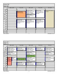 Microsoft Office Outlook - Weekly Style - Institute for Clinical ...