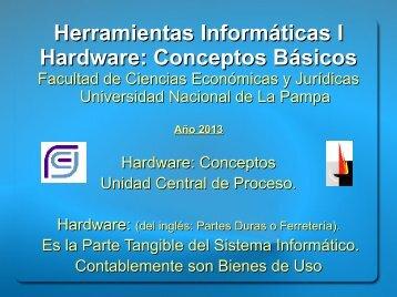 01_Hardware_Unidad_Central_de_Proceso_2013 - Facultad de ...