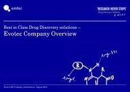 2012-08 evotec Company presentation...