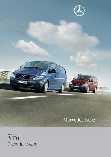 Paketti- ja tila-autot - Mercedes-Benz