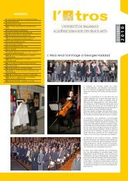 No. 13 / Octobre 2010 (PDF) - ALBA