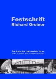 Festschrift - institut für stahlbau