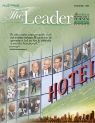 Summer 2009 - The School of Hospitality Business - Michigan State ...