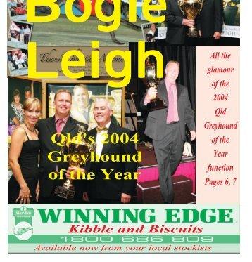 Qld's 2004 Greyhound of the Year - Greyhound-Data