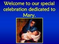 Mary Mass 2013