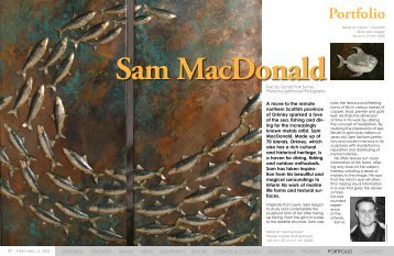 Sam MacDonald Portfolio :: X-Ray Magazine :: Issue 5 - 2005