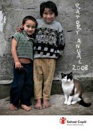 Descarcă Raportul anual 2008 - Salvati Copiii