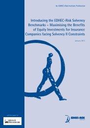 Introducing the EDHEC-Risk Solvency Benchmarks – Maximising ...