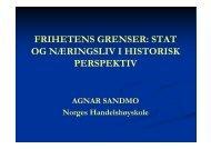 Agnar Sandmo - NHH