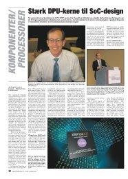 kom ponenter/ processorer - Electronics Summit 2011
