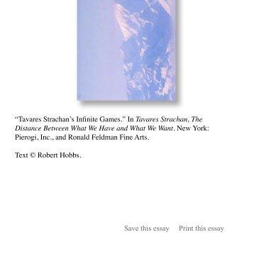in Tavares Strachan - Robert Hobbs