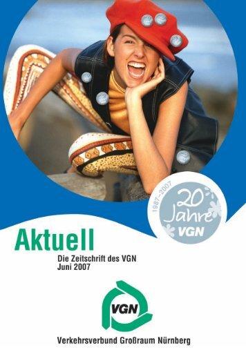 VGN feiert 2007 das 20-jährige Bestehen