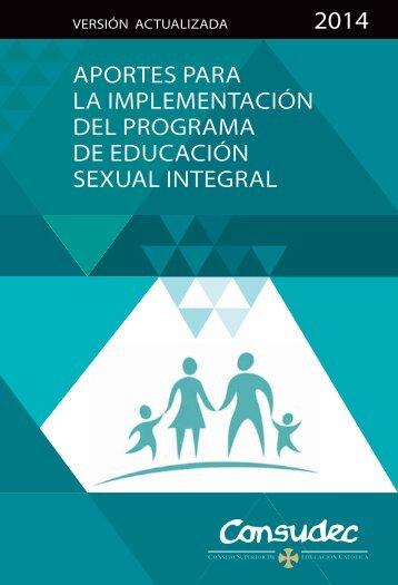 Programa de educacion sexual