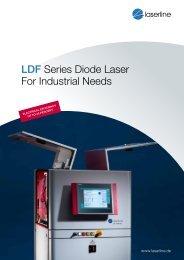 LDF Series Diode Laser - For Industrial Needs - Laserline
