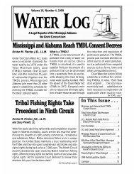 Water Log 19.4 - Mississippi-Alabama Sea Grant Legal Program