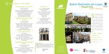 Saint-Germain-en-Laye, - Office de Tourisme de Saint-Germain-en ...