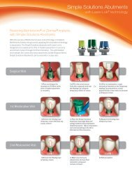 Simple Solutions Abutments - BioHorizons