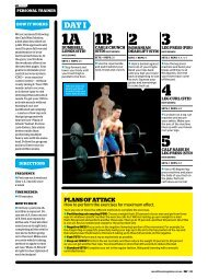 to see the Lose Carbs, Gain Muscle Workout - Men's Fitness Magazine