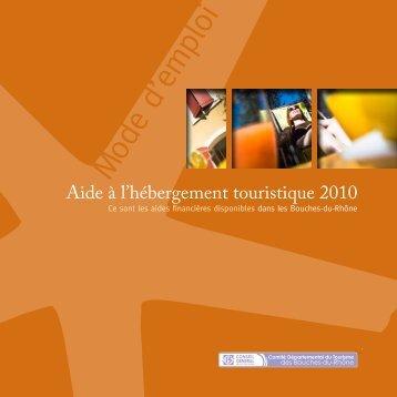 M ode d'emploi - Accueil - Bouches du Rhône