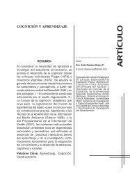 Cognición y aprendizaje - SciELO