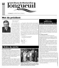 Mot du président - Ville de Longueuil