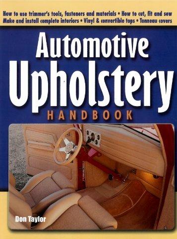 automotive upholstery handbook - Californiabills.com