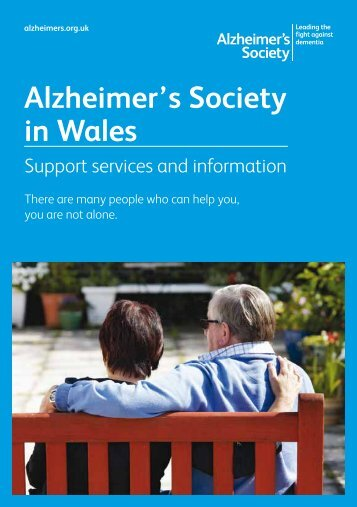 Alzheimer's Society in Wales - Primary Mental Health Care and ...