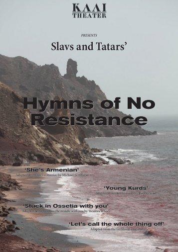 Hymns of No Resistance - Slavs and Tatars