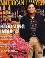 Read the American Lawyer article about classmate Sanjoy