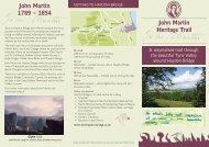 John Martin Trails Leaflet - Walk4Life