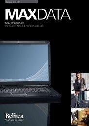 September 2007 Hersteller-Katalog Kundenausgabe - MaxData