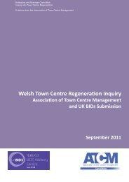 Consultation Response 37. Association of Town Centre ...
