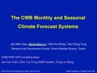 Lu - Climate Prediction Center - NOAA
