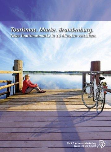 Tourismus. Marke. Brandenburg. - Tourismuspreis des Landes ...