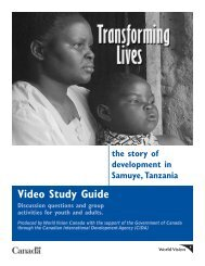 Transforming Lives - World Class