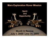 wir_20050731.pdf - Mars Exploration Rover Mission - NASA