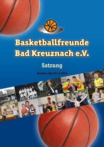 Satzung - VfL 1848 Bad Kreuznach eV
