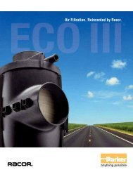 ECO III Air Filtration Reinvented by Racor - Bolland Machine