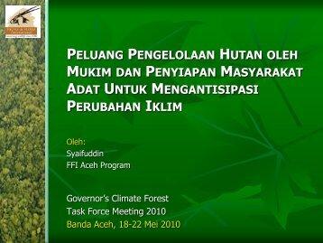 Pengertian Masyarakat Adat - GCF