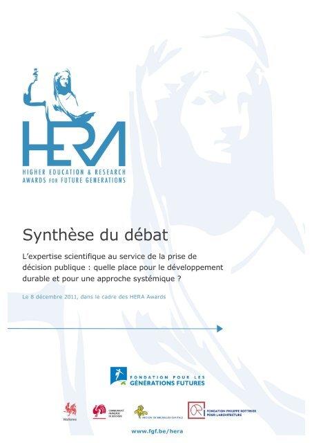 Télécharger la synthèse des débats - FGF