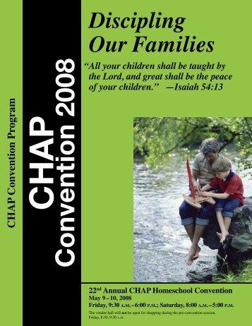 Convention 2008 - Christian Homeschool Association of Pennsylvania