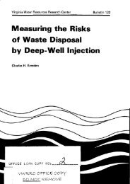 Measuring the Risks of Waste Disposal by Deep-Well Injection