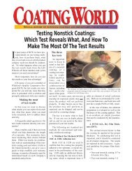 Testing Nonstick Coatings: Which Test Reveals ... - Whitford Corp