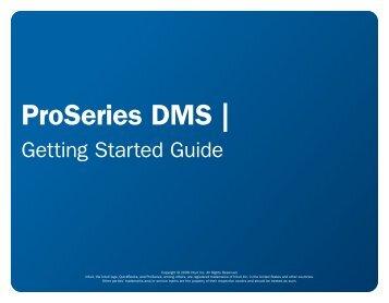 ProSeries DMS | - Intuit