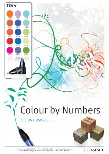Colour by Numbers - Letraset