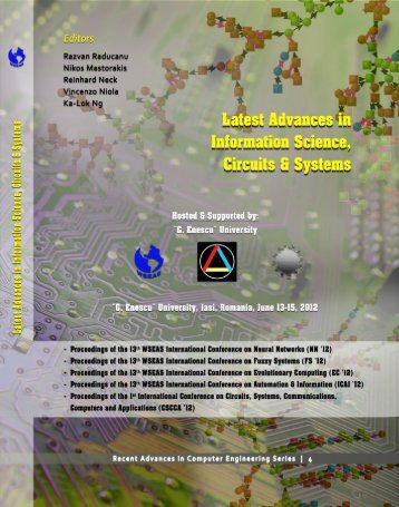 Latest Advances in Information Science, Circuits and ... - WSEAS