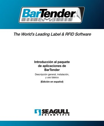 The World's Leading Label & RFID Software - Seagull Scientific