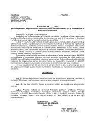 HCL Regulament APA PROD.pdf - Primaria Municipiului Hunedoara