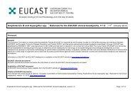 Amphotericin B - eucast
