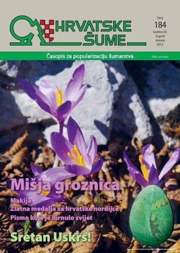Mišja groznica - Hrvatske šume